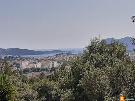APPARTEMENT T3 TERRASSE VUE MER PARKING ORTOLAN FARON PLAISANCE TOULON 83100