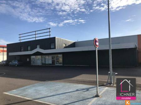 Local commercial 1651 m2 - Folschviller