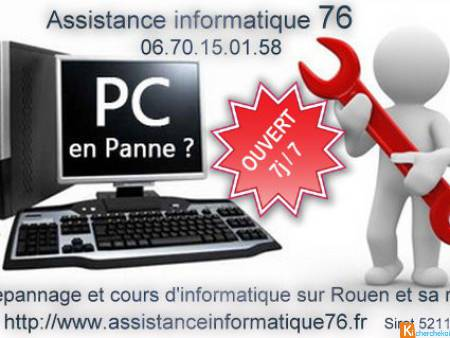 Dépannage informatique Windows Mac Linux 7 j / 7
