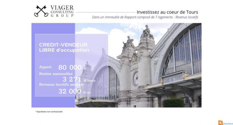 investissement immobilier viager