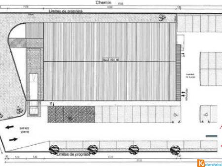 Local commercial 1060 m² - Phalsbourg