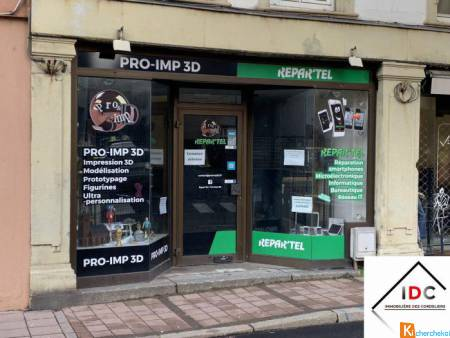 Local commercial avec vitrine - Sarrebourg