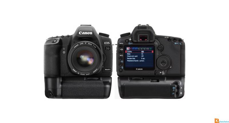 Canon 5D Mark II + Grip 2 batteries parfait état