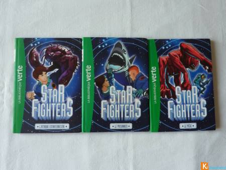 Lot de 3 livres STAR FIGHTERS