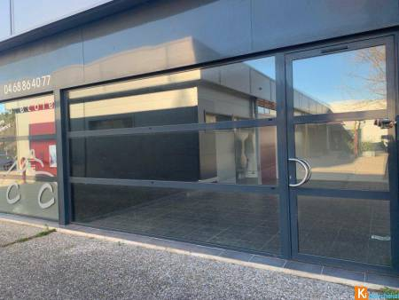Saint-Estève - Local commercial 40m2 - Centre Le Canigou