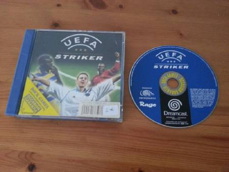 Jeu Dreamcast UEFA Striker