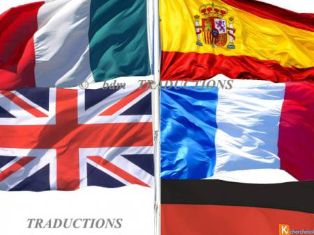 TRADUCTIONS ANGLAIS, ITALIEN, ESPAGNOL, ALLEMAND