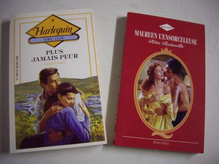 Livres collection Harlequin-Duo à 0,20 € + 0,30 €