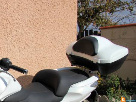 TOP CASE D'ORIGINE HONDA 40 L BLANC.
