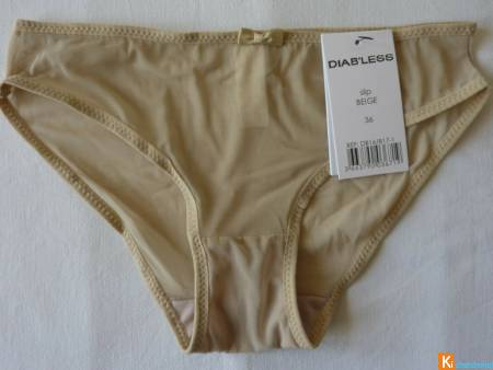 Culotte beige taille 36 neuf Diab'less (44)