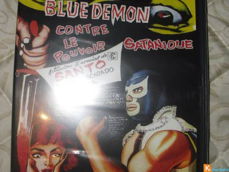 DVD: Blue démon (sous blister)