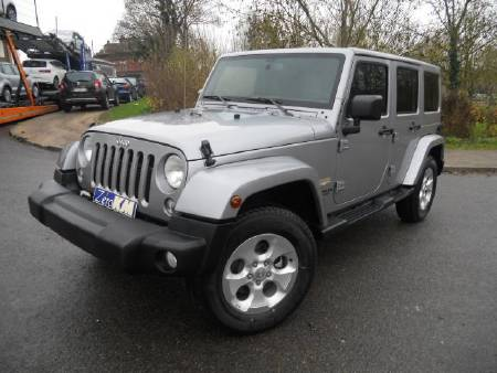 Jeep WRANGLER unlimited 2.8 crd sahara bva5