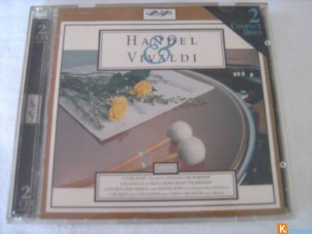 CD double Handel & Vivaldi
