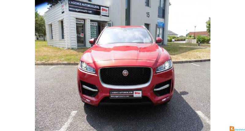 JAGUAR F-Pace V6 3.0 380 R-sport + Options