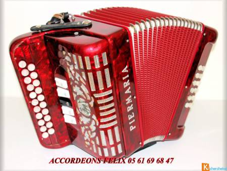 ACCORDEON PIERMARIA DIATONIQUE SOL / DO