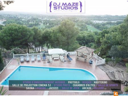 Location studio d'enregistrement DJ Maze