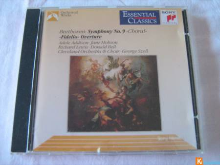 CD Essential Classics Beethoven Symph. 9 & Fidélio