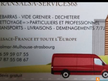 Transport, déménagement , debarras encombrants
