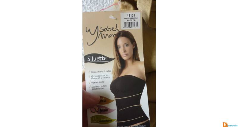 Bustier haut gainant taille M ou L neuf (g4)