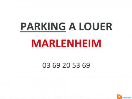 MARLENHEIM - EMPLACEMENT PARKING - Marlenheim