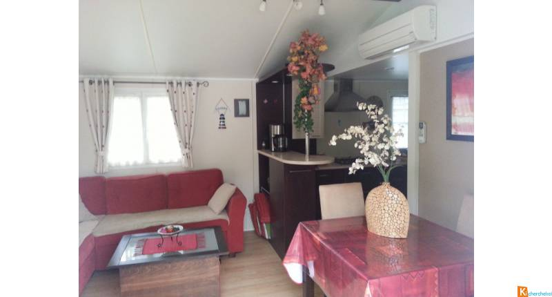 MOBIL HOME CLIMATISE 36 M 2