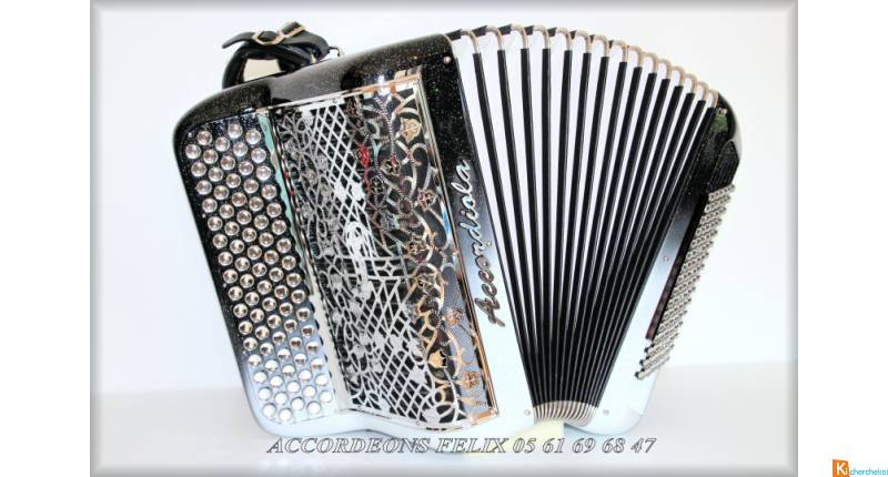 ACCORDEON ACCORDIOLA 04 COMPACT CARBONE.