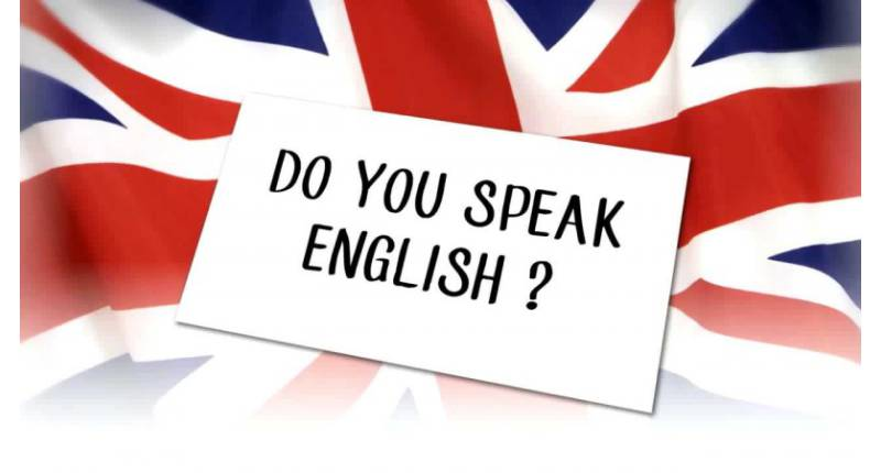 Let's speak English !