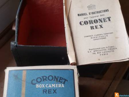BOITIER PHOTO DE COLLECTION CORONET REX