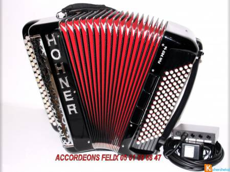 ACCORDEON HOHNER FUN PRO 96 ACOUSTIQUE ET MIDI.