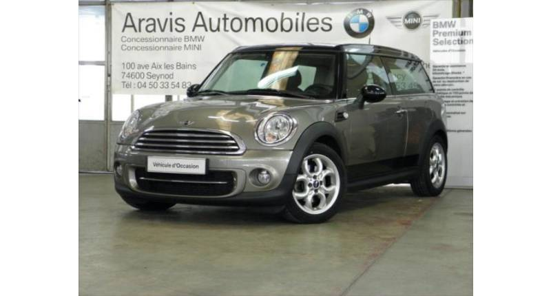 Mini Clubman Cooper D Pack Red Hot Chili 1 Occasion Seynod 74600