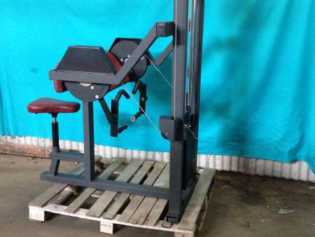 Machine Biceps / PRODUIT D'OCC