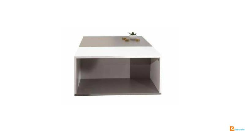 MEGA Table basse bivolume NEUF -55%