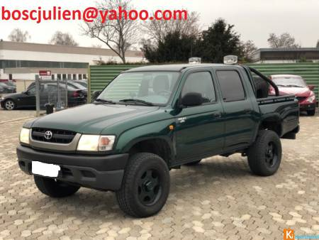 Toyota HiLux 4x4 Double Cab Special VERTE