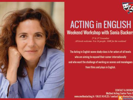 Stage Acting in English