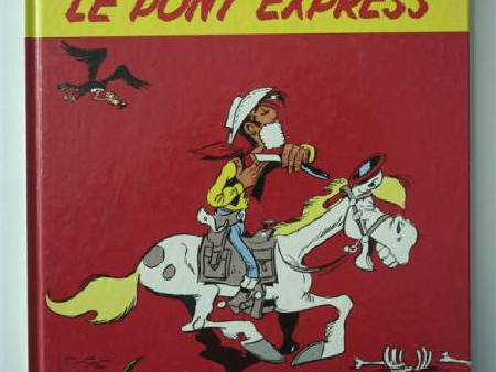 BD LUCKY LUKE - PONY EXPRESS