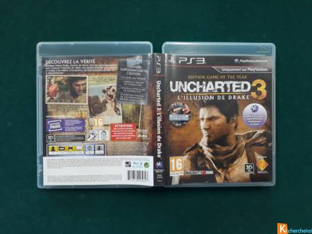 Uncharted 3 - L'illusion de Drake pour PS3