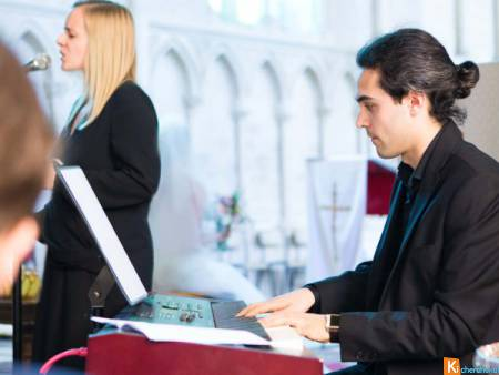 Duo chanteuse pianiste messe mariage Yvelines
