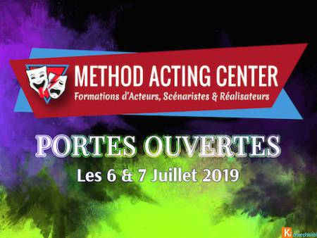 Portes Ouvertes Juillet 2019-Method Acting Center