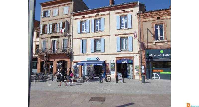 ALBI CENTRE LOCAL PROFESSIONNEL ET/ OU APPARTEMENT 109M2