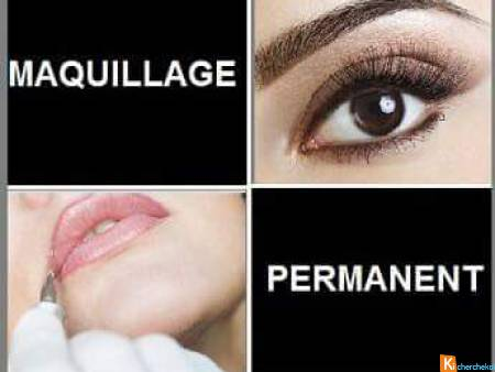 Maquillage permanent et semi permanent