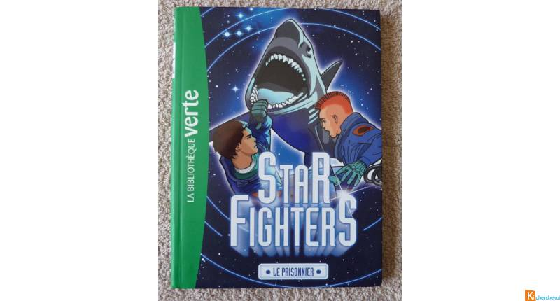 Livre Le piège starfighters Bibliotheque verte