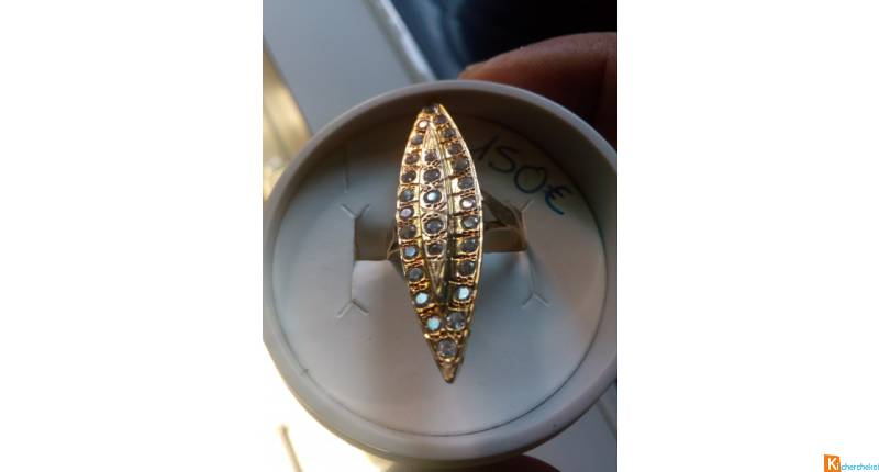 Marquise 18 carats