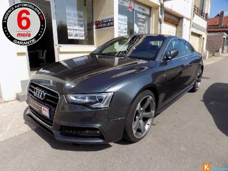 Audi A5 Coupe 2.0 Tdi 190 Cv Clean S Line Multitronic