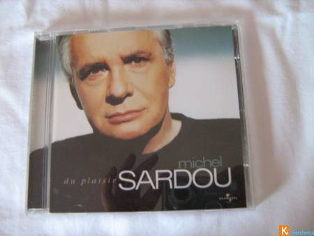 CD Michel Sardou - Du plaisir