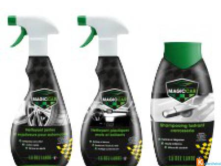 Kit decouverte Magic CAR ecodetergent Ecocert