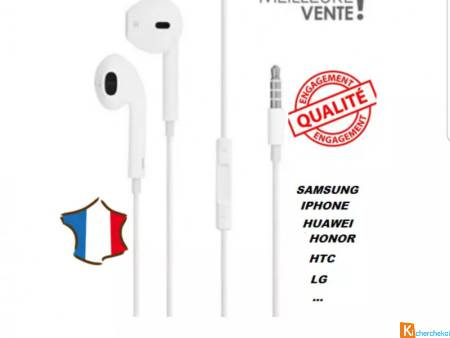 Ecouteurs neufs pour APPLE SAMSUNG HUAWEI HONOR..