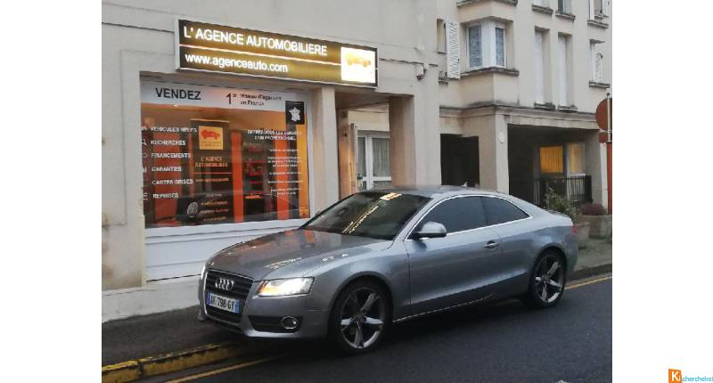 Audi A5 2.7 V6 Tdi 190ch Ambition Luxe Multitronic Carnet D'entretien Complet!