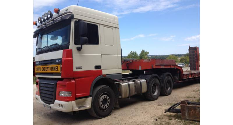CAMION  TRACTEUR DAF 510  6X4