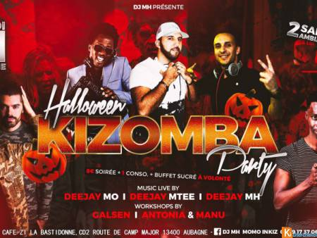 Halloween Kizomba Party Au B52 Café Aubagne