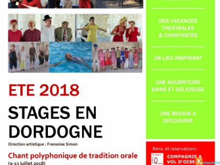 Stage Chant polyphonique traditionnel (juil 2018)